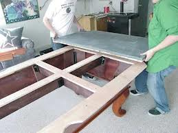 Pool table moves in Holland Michigan